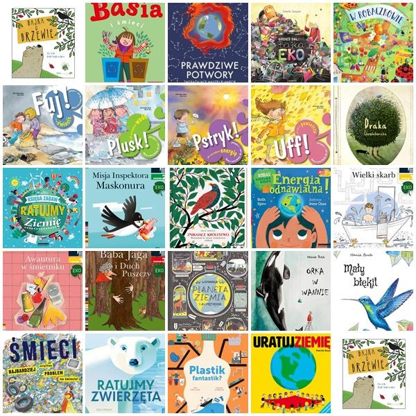 Najciekawsze Książki O Ekologii Dla Dzieci